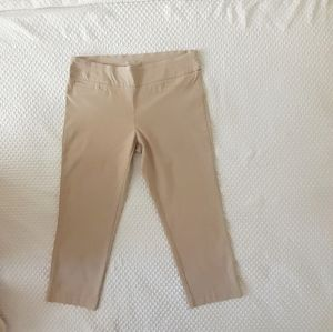 🔥3 for $9 Dalia Khaki Stretch Cropped Pants